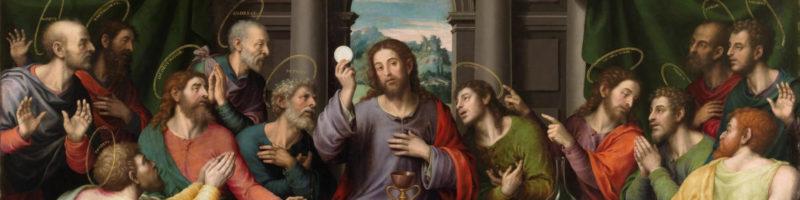 Image de Jésus et ses disciples lors du repas de la Pâque